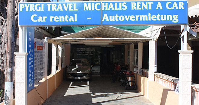 Michalis Car Hire Corfu