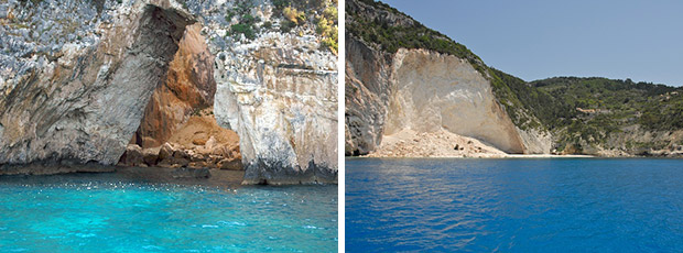 West coast of Paxos